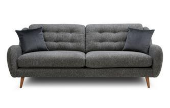 Plain 4 Seater Sofa