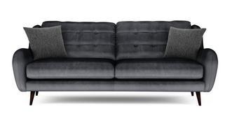 Camden Velvet 4 Seater Sofa