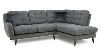 Camden Plain Left Hand Facing Arm Open End Corner Sofa