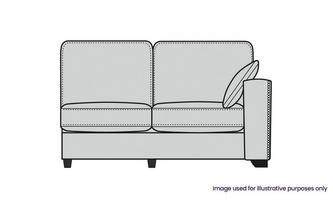 Formal Back Right Hand Facing 1 Arm 2 Seat Unit