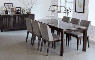 Capella Dining Table & Set of 4 Chairs Capella