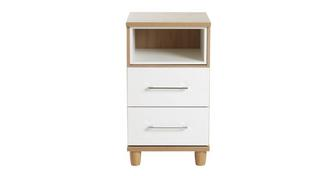 Carbis 2 Drawer Chest with Shelf