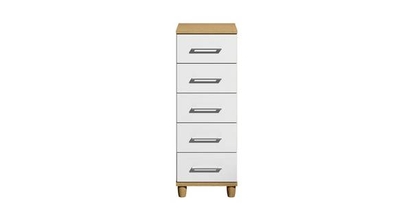 Carbis 5 Drawer Narrow Chest