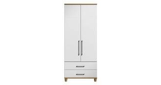 Carbis 2 Door Robe with Drawers