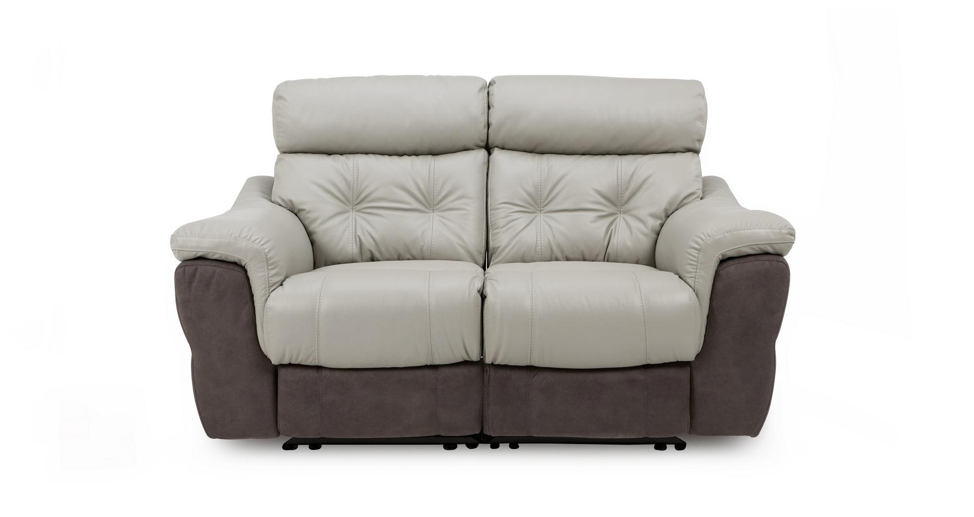 Dfs Recliner Sofa Dfs Navona Brown Leather Settee 3