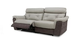 Carello 3 Seater Manual Recliner
