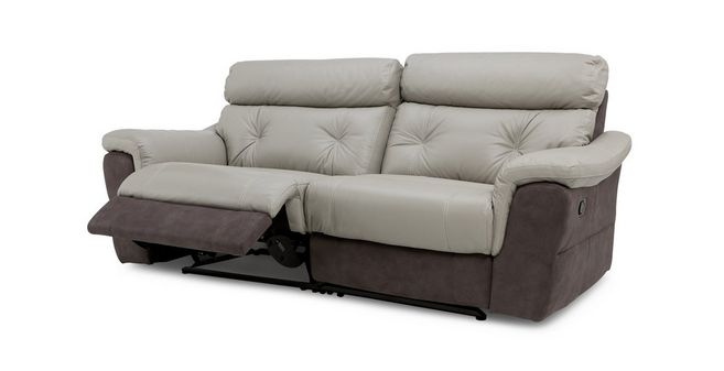 Modern Carello Clearance 3 Seater Manual Recliner Style - Minimalist 3 seat reclining sofa For Your Plan