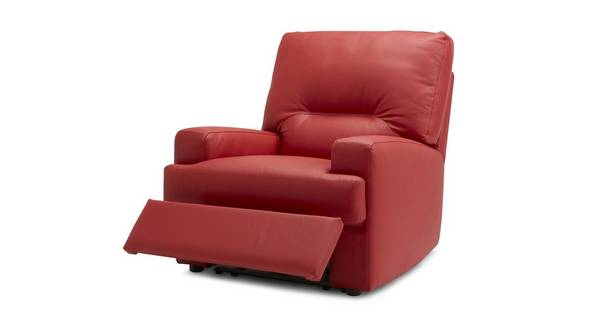 Cargo Leather and Leather Look Manual Recliner Chair