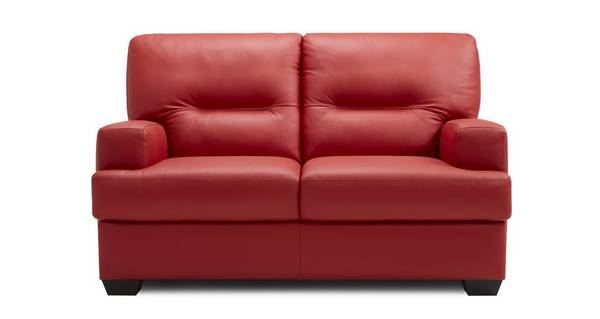 Cargo Leather and Leather Look 2 Seater Sofa