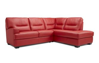 Left Hand Facing Arm 2 Piece Corner Sofa Hazen