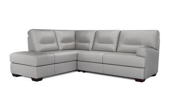 Cargo Leather and Leather Look Right Hand Facing Arm 2 Piece Corner Sofa Hazen