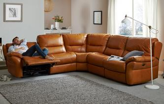 multibuysaving Carmello Option C 2 Corner 2 Electric Double Recliner Sofa Palatial : best sofa recliners - islam-shia.org