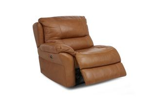 Left Hand Facing Arm 1 Seater Power Recliner Unit