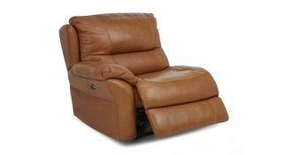 Carmello Left Hand Facing Arm 1 Seater Power Plus Recliner Unit