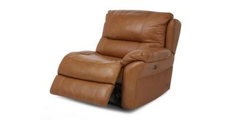 Carmello Right Hand Facing Arm 1 Seater Power Plus Recliner Unit