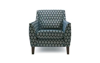 Pattern Accent Chair Benita Pattern