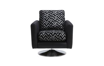 Pattern Swivel Chair Carrara