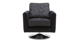 Carrara Plain Swivel Chair