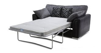 Carrara 2-zits Deluxe slaapbank met traditionele rugkussens