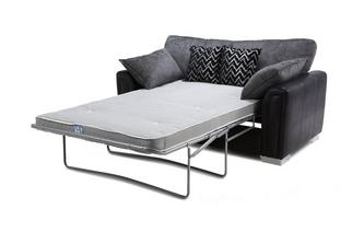 2 Seater Formal Back Deluxe Sofa Bed Carrara