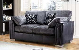 Carrara 2 Seater Formal Back Supreme Sofa Bed Carrara