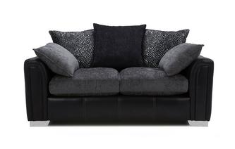 2 Seater Pillow Back Supreme Sofa Bed Carrara