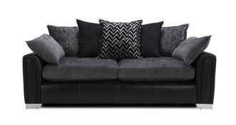 Carrara 4 Seater Pillow Back Sofa