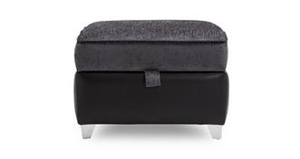 Carrara Plain Top Storage Foostool