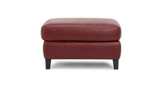 Carter Leather and Leather Look Storage Footstool