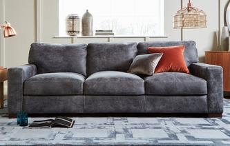 Leather Sofas In A Range Of Styles Dfs