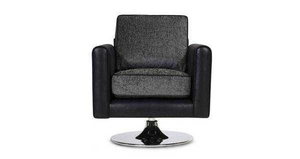 Cassius Plain Swivel Chair