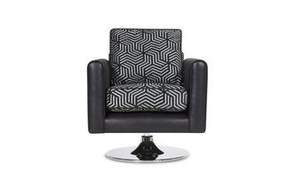 Pattern Swivel Chair