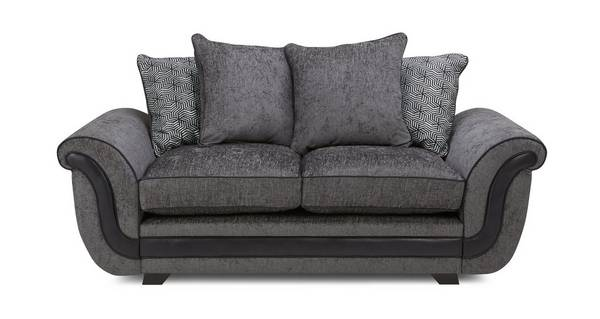 Cassius 2 Seater Pillow Back Sofa