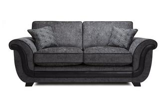 Cassius 2 Seater Formal  Back Deluxe Sofa Bed Cassius