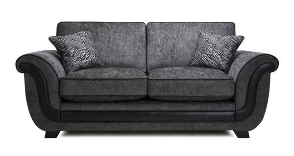 Cassius 2 Seater Formal  Back Deluxe Sofa Bed