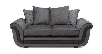 Cassius 2 Seater Pillow Back Deluxe Sofa Bed