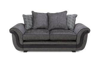 2 Seater Pillow Back Deluxe Sofa Bed Cassius