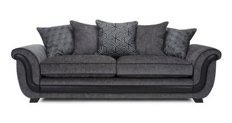 Cassius 4 Seater Pillow Back Sofa