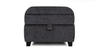 Cassius Plain Top Storage Footstool