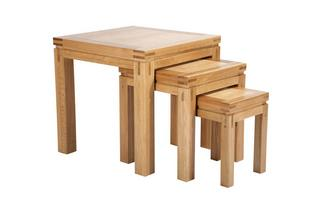 Nest of Tables American Oak