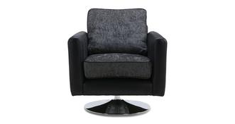 Cayanne Plain Swivel Chair