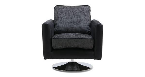 Cayanne Plain Swivel Chair
