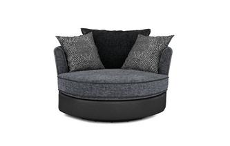 Large Swivel Chair Carrara