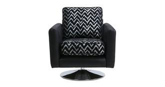 Cayanne Pattern Swivel Chair