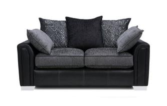 2 Seater Pillow Back Sofa Carrara