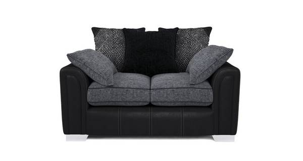 Cayanne Small 2 Seater Pillow Back Sofa