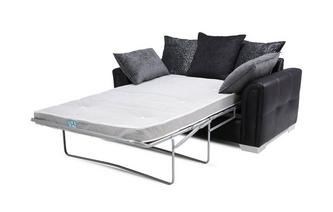 Large 2 Seater Pillow Back Deluxe Sofa Bed Carrara