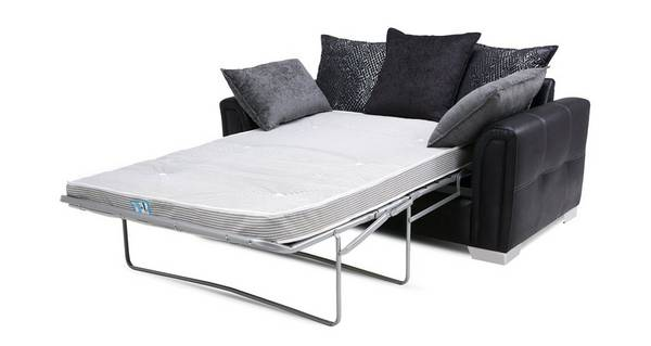 Cayanne Large 2 Seater Pillow Back Deluxe Sofa Bed