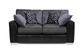 Large 2 Seater Formal Back Supreme Sofa Bed Carrara