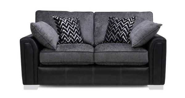 Cayanne Large 2 Seater Formal Back Supreme Sofa Bed